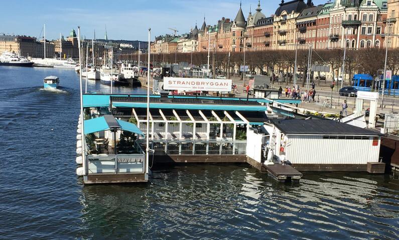 Strandbryggan Sea Club Stockholm