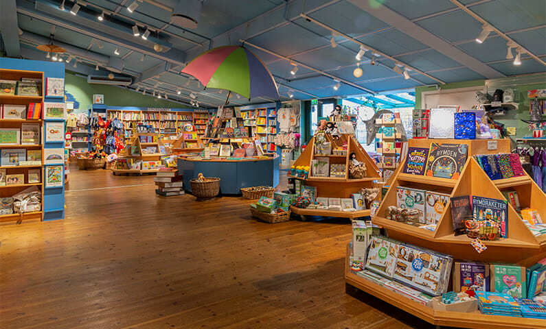 The children's bookstore at Junibacken