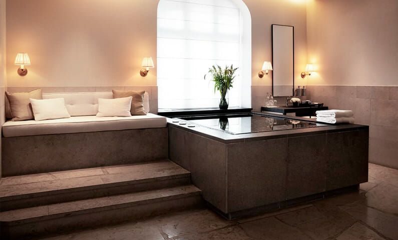 The Spa Suite at Grand Hôtel Nordic Spa & Fitness in Stockholm