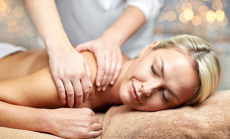 Get a massage at a spa in Stockholm