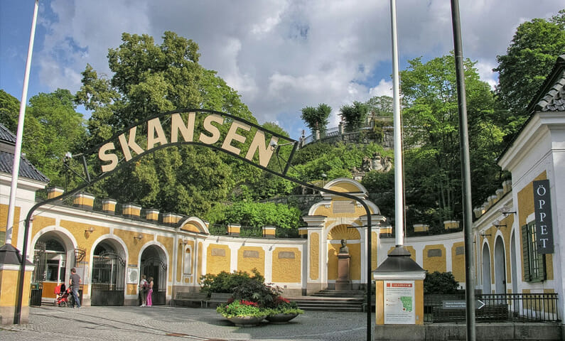 Skansen museum Stockholm
