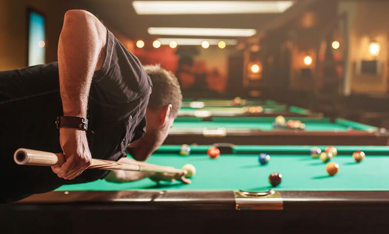 Play pool Stockholm