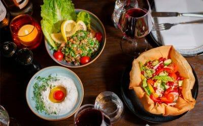Bästa vegetariska restaurangerna i Stockholm