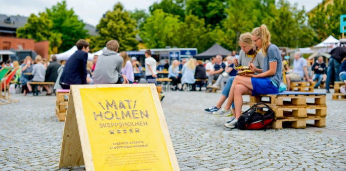Matholmen – Sveriges största streetfood marknad