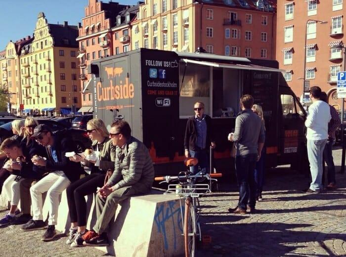 Foodtrucks i Stockholm