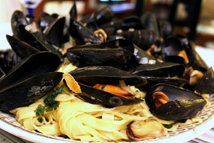 Pasta With Clams And White Wine