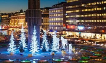#Stockholmsjul – Christmas Market on Sergels Torg