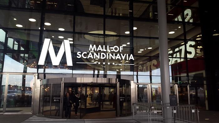 Торговый центр Mall of Scandinavia