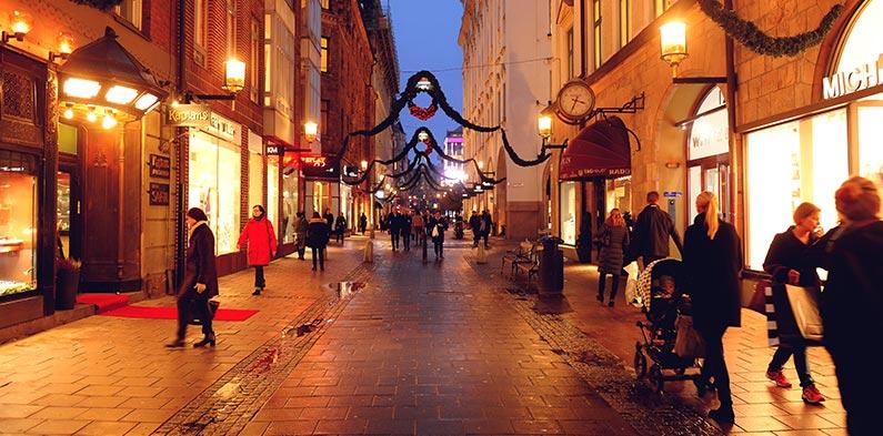 Biblioteksgatan: Stockholm's most exclusive shopping street