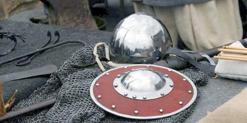 Vikinga och medeltida marknad i Kungsträdgården. Ярмарка-выставка Викинги и Средневековье
