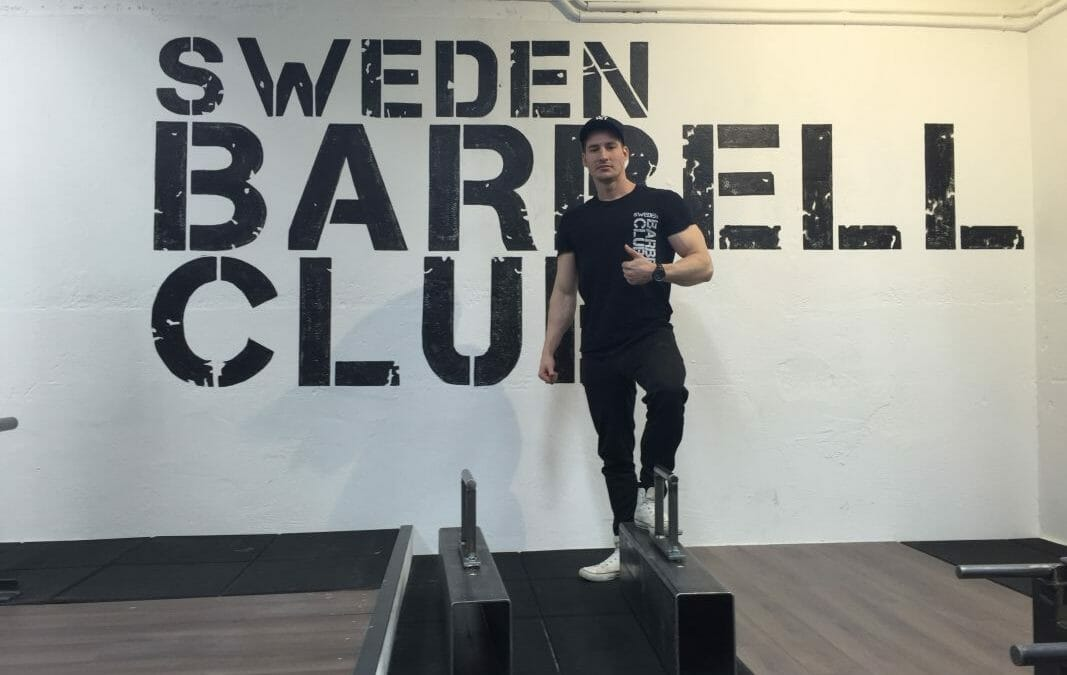 living the dream! Sweden Barbell Club