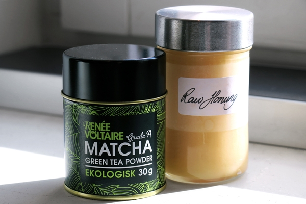 DIY Matcha Face Mask