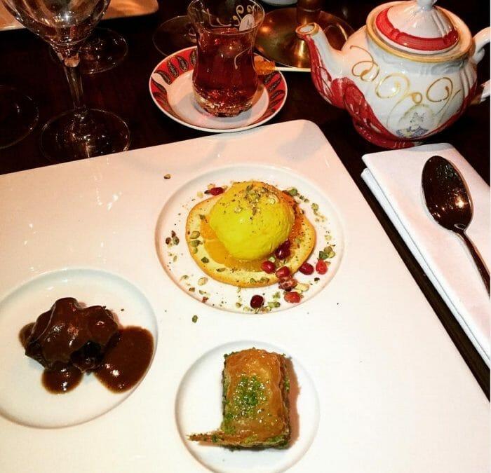 Persian dinner at Restaurang Shahrzad