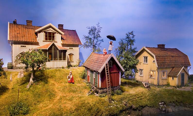 Junibacken - kids museum in Stockholm