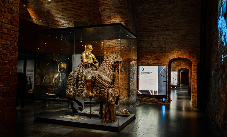 The Royal Coin Cabinet (Livrustkammaren) in Stockholm