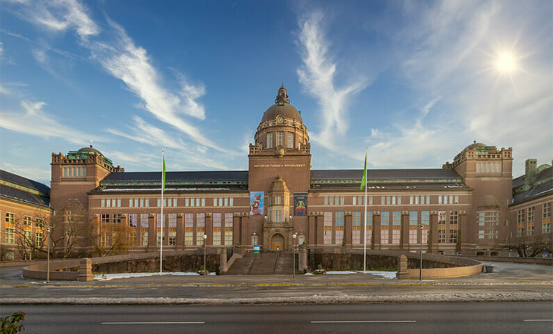 Museum of Natural History in Stockholm