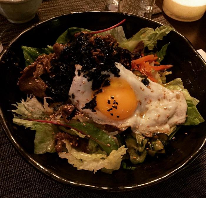 Korean dinner at Kimchi