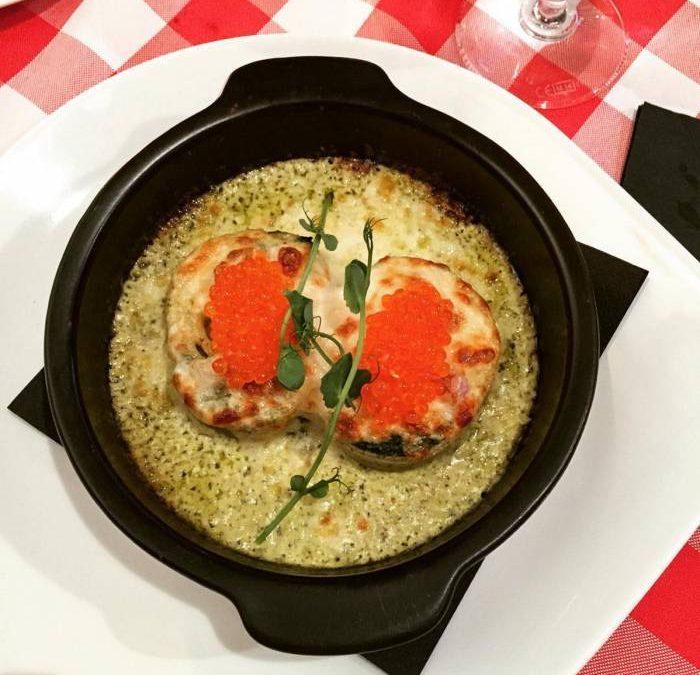 Italian dinner at Olja&Oliv