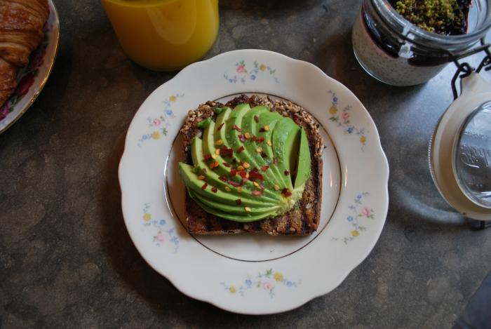 Stockholm's best avocado toast