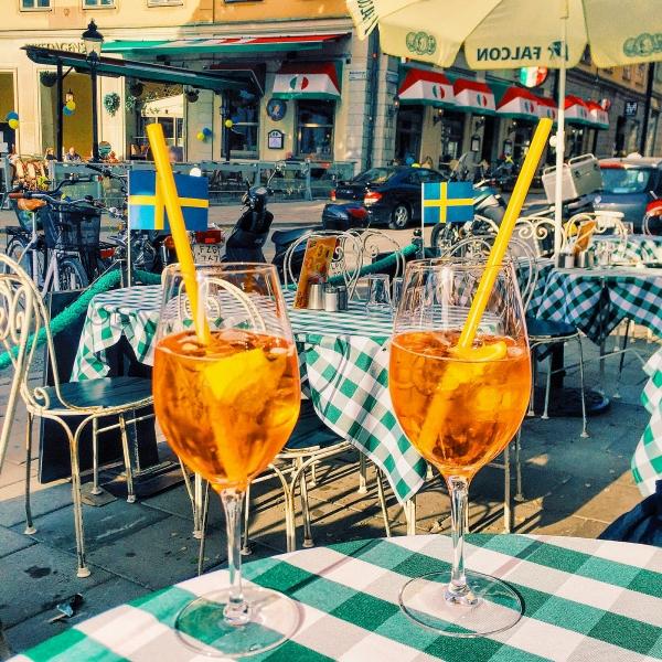 Italian Dinner at Gamla Stan