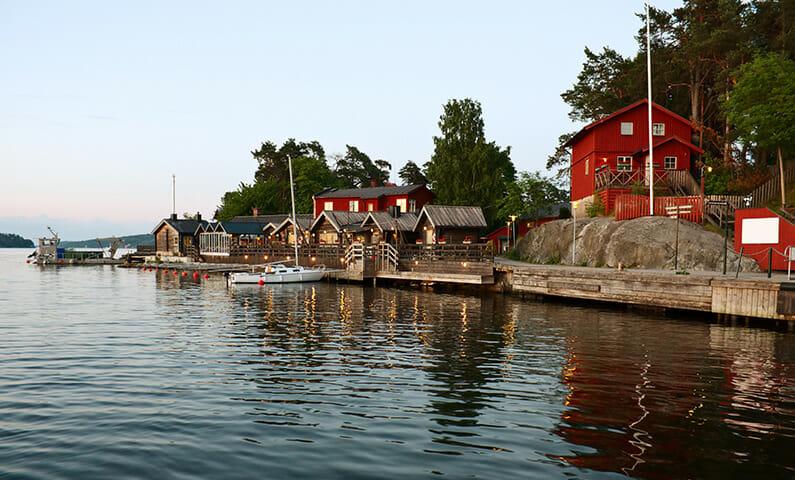 Fjäderholmarna i Stockholms skärgård