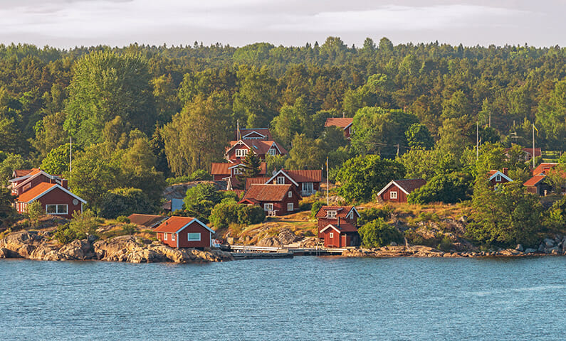 Möja in Stockholm archipelago