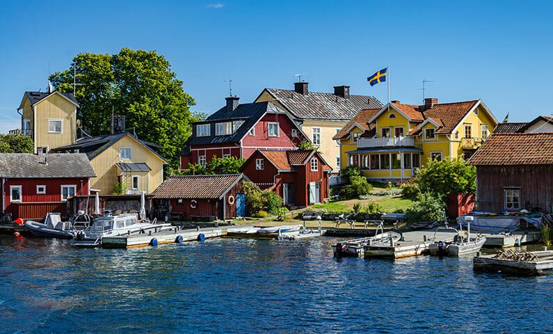 Sandhamn in Stockholm archipelago