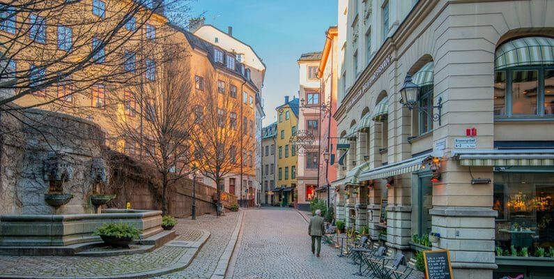 Best city walks in Stockholm