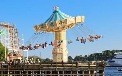 Gröna Lund: Stockholm's amusement park by the sea