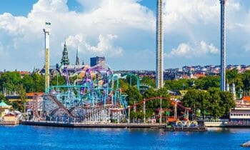 Gröna Lund: Stockholm's amusement park by the sea