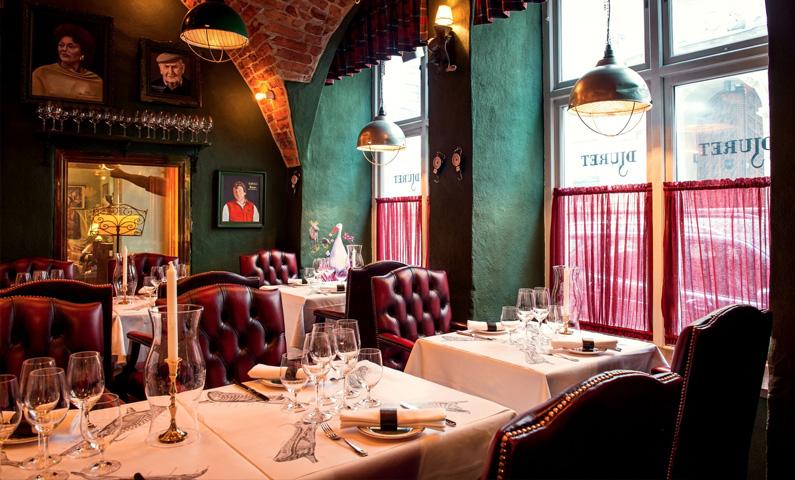Restaurant Djuret in Stockholm