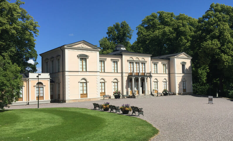 Rosendal Palace in Stockholm