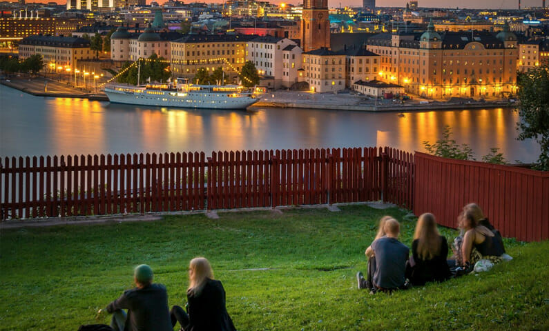 Ivar Los park Stockholm