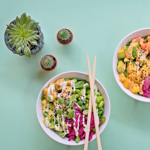 Orange County Foods poke bowl