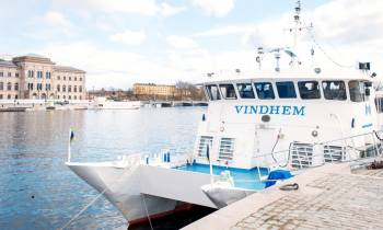 Take a cruise with the music boat M/S Vindhem in the Stockholm archipelago