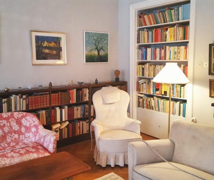 Квартира Астрид Линдгрен открыта для посещений.