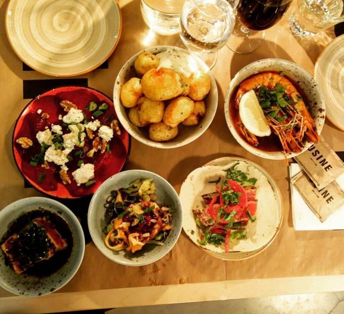 Tapas dinner at Poche36