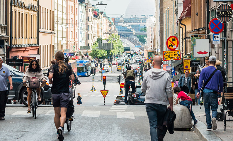 Götgatan shopping Stockholm