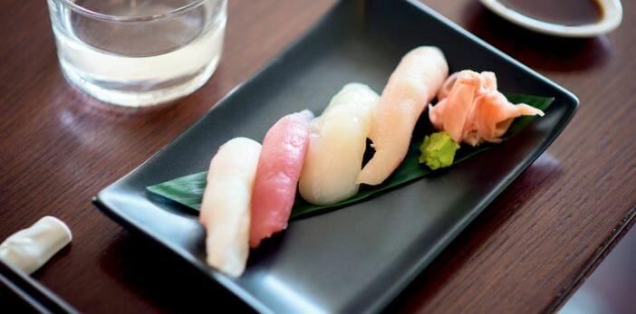 Baby it's sushi time på Shibuya Sushi