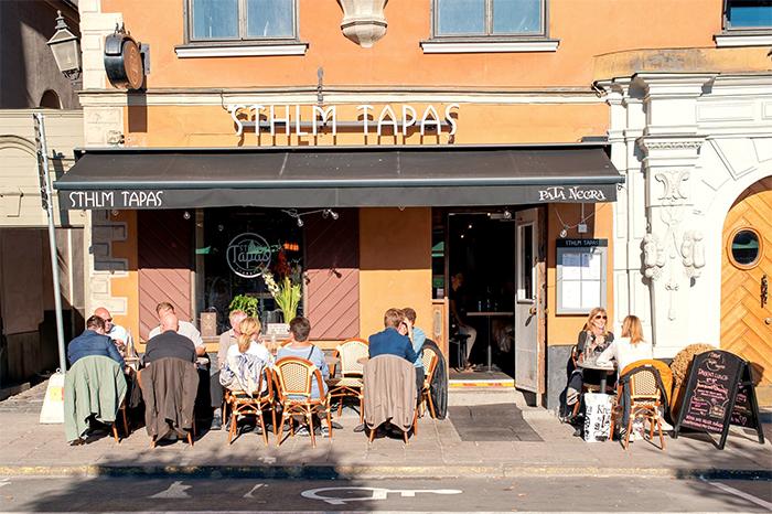 Uteserveringen är igång på STHLM Tapas Kungsholmen
