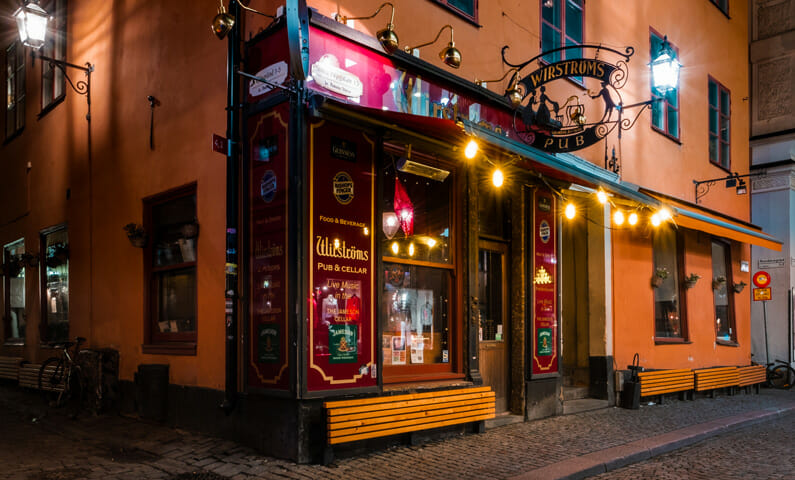 Wirströms Pub, Old Town Stockholm