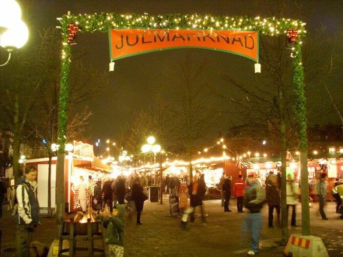 Kungsträdgården Christmas market