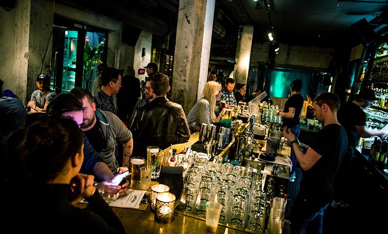 Story hotel bar i Stockholm