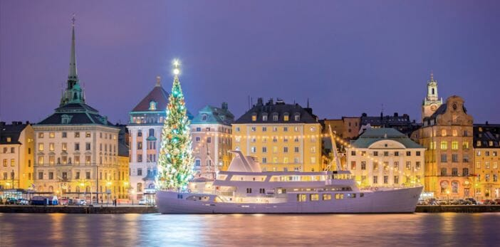 Rockin' around Stockholm's Christmas trees