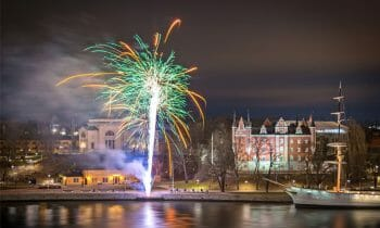 Stockholm's New Year's Eve fireworks 2019