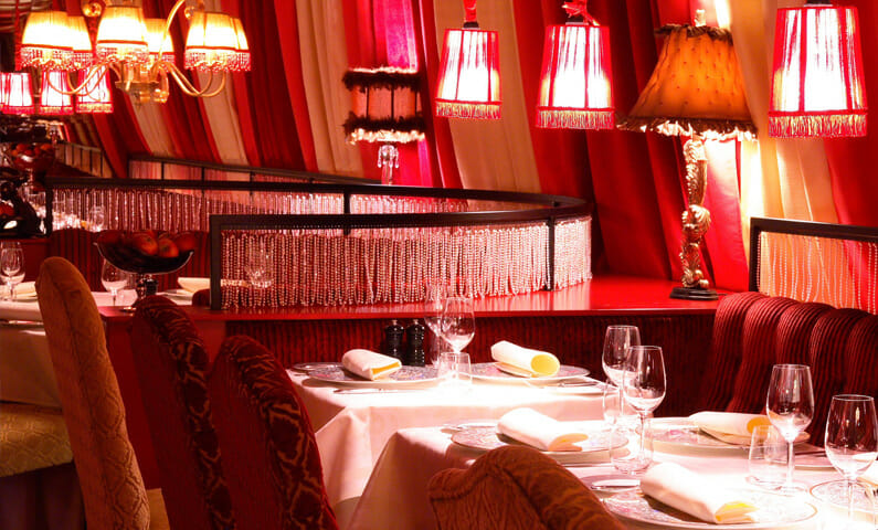 Restaurant Le Rouge in Stockholm