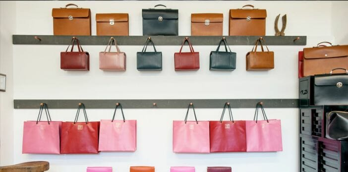 Find beautiful and functional leather products at Nyström Stockholm