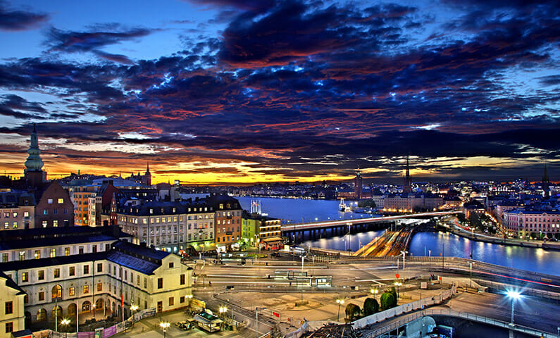 Best restaurants for Valentine's Day in Stockholm