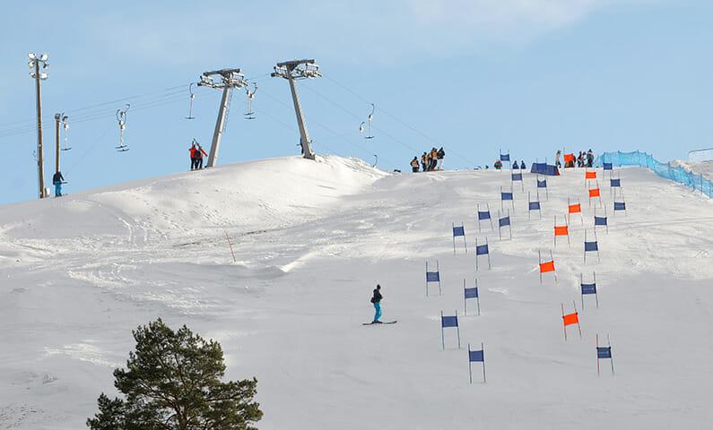 Stockholm skiing Hammarbybacken