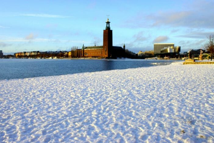 stockholm in the snow - photo #18